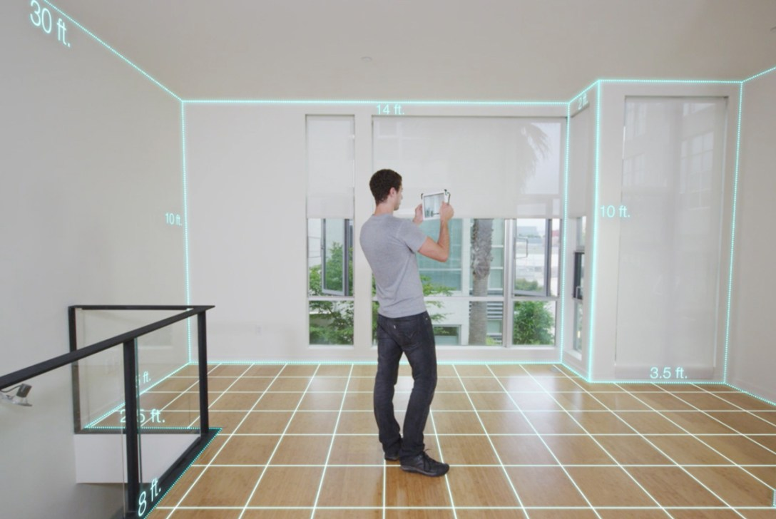 Augmented Reality on iOS Tablets with Occipital's Structure Sensor