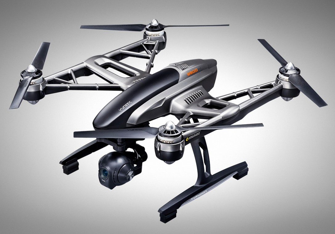 Yuneec's Typhoon Q500 Drone with 4K Camera