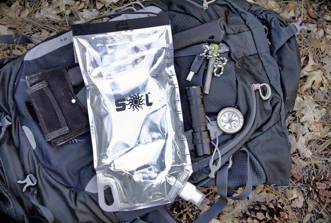 SOL Water-Purifying Bag