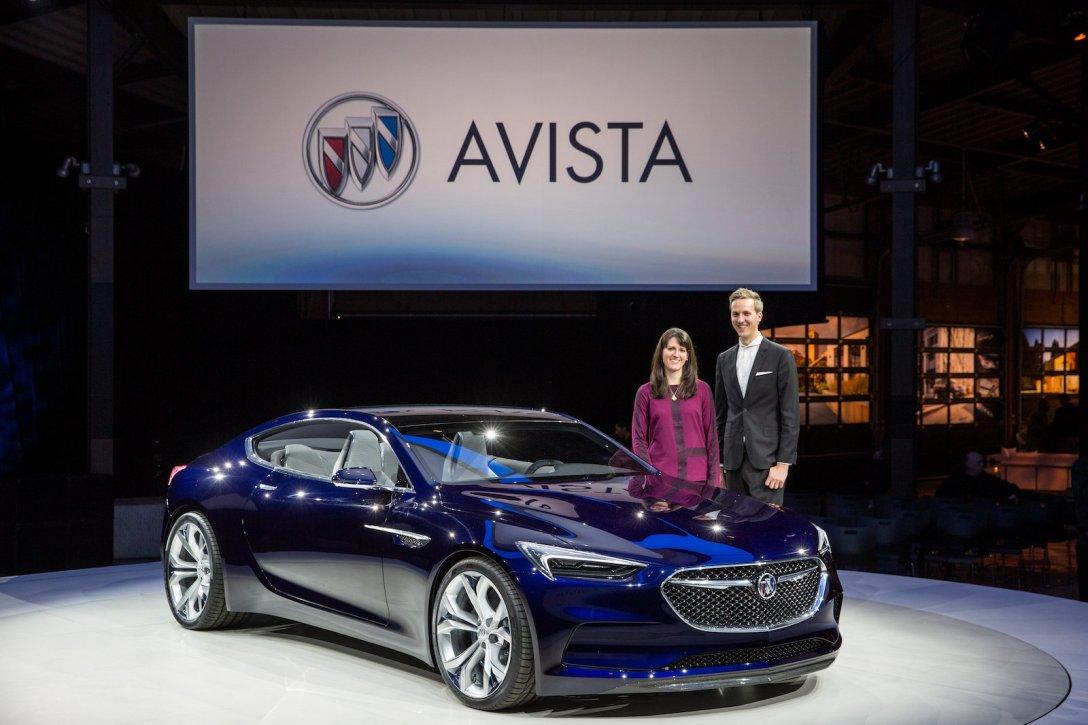 Imagining the Buick Avista Concept Car