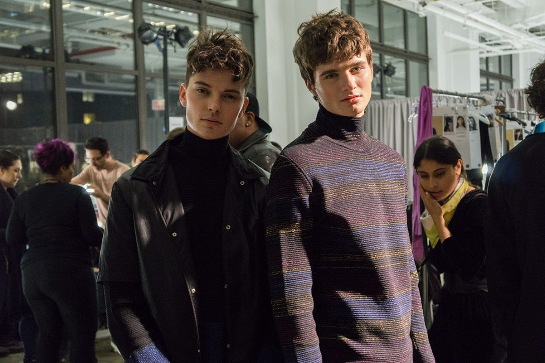 Behind the Scenes of CFDA's New York Fashion Week: Men's