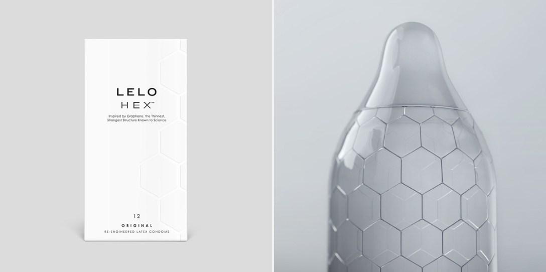 LELO's Reinvented Condom: HEX