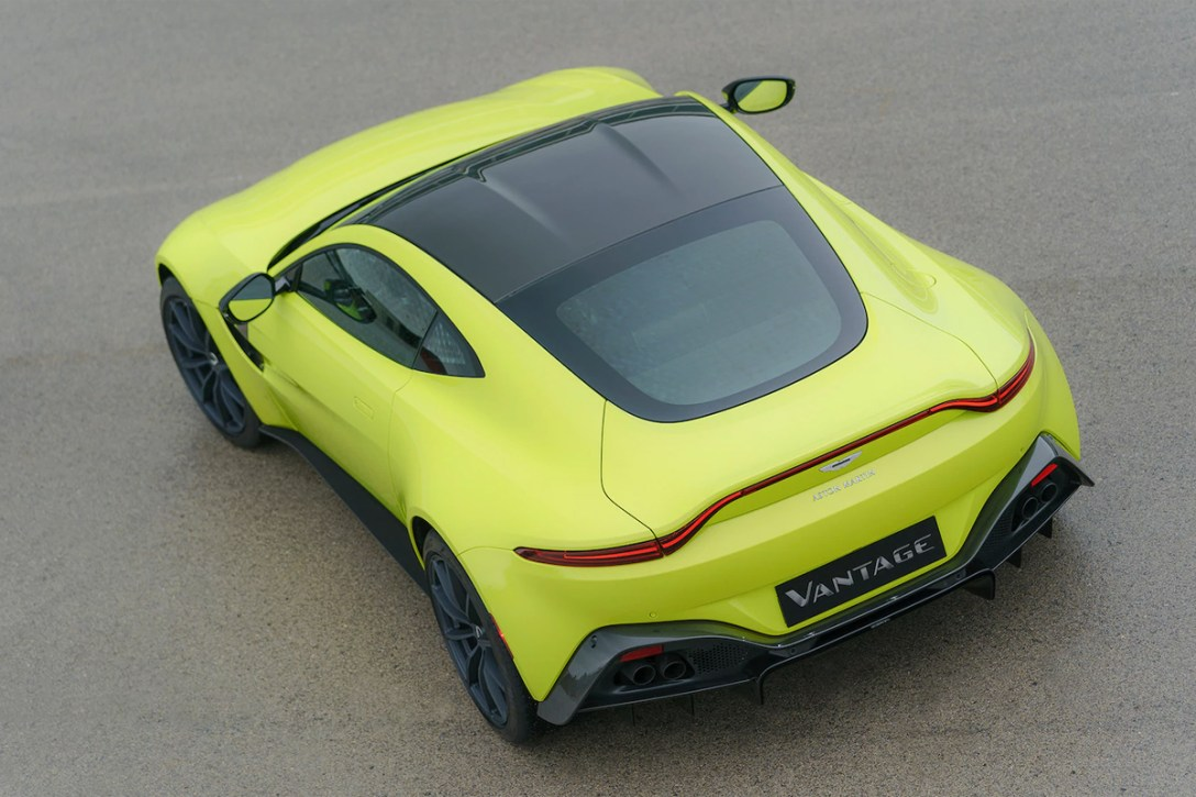Test Drive 2019 Aston Martin Vantage Cool Hunting