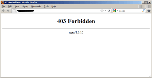 Http Status Code  403 (forbidden) Knowledgebase