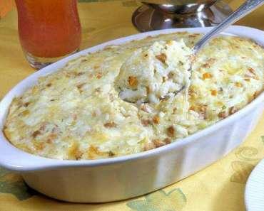 Arroz cremoso de queijo