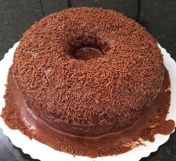 Bolo de Chocolate Fofinho de Liquidificador Receita da Hora