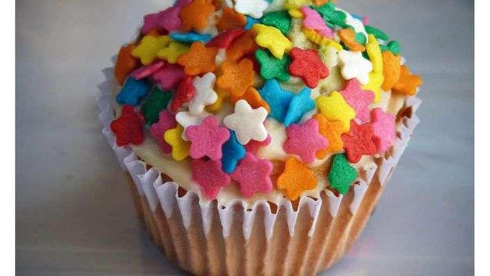 Cupcake de micro-ondas
