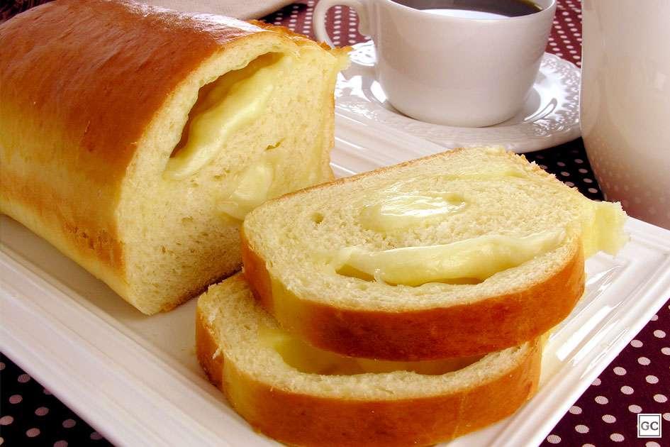 Pão de alho com queijo Guia da Cozinha
