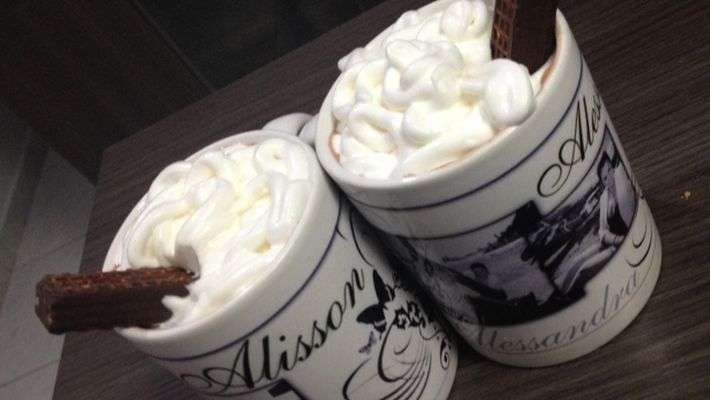 Receita de Chocolate quente com leite condensado e creme de leite Fácil
