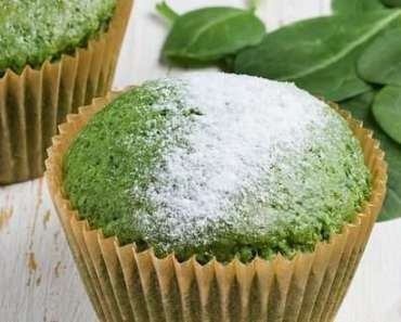 Receita de Muffin de Espinafre Fit