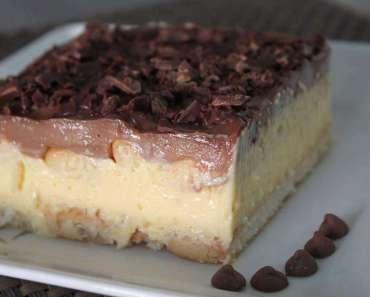 Receita de Pavê de Maracujá e Chocolate
