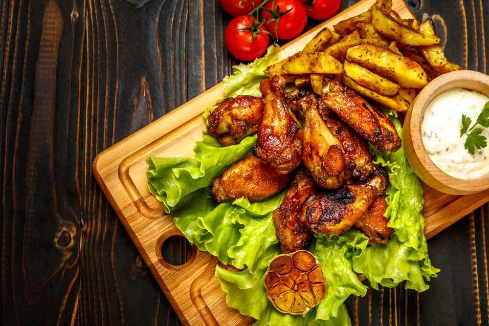 Receita de Asas de frango no forno Rápido