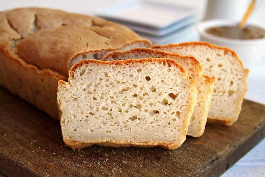 Receita de Pão com Farinha de Arroz