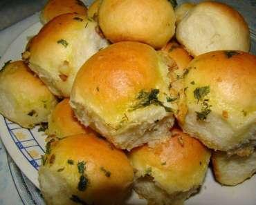 Receita de Pão de Cebola Vegano