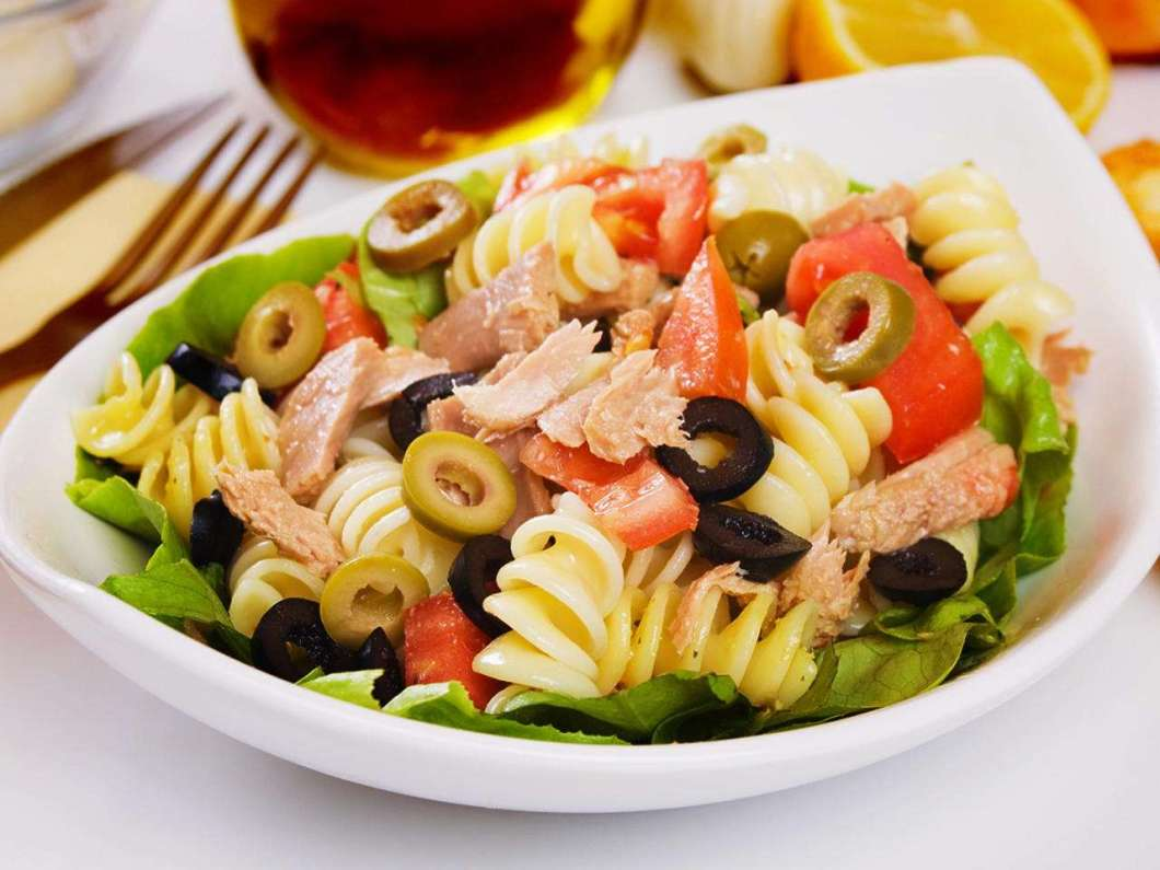 Receita de Salada Fria de Macarrão