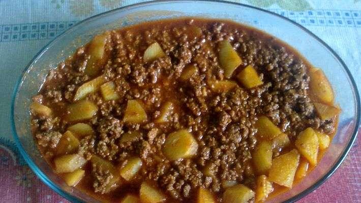 Receita de Carne Moída com Batatas Rapidinha