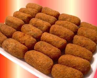Receita de Croquetes de Carne Fácil