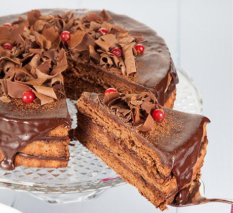 Receita de Delícia de chocolate em camadas