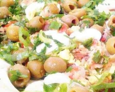Receita de Salada de bacalhau à portuguesa