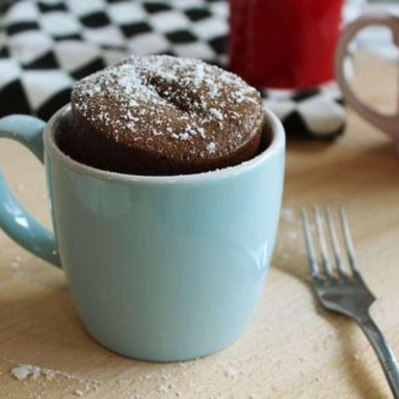 Como fazer bolo de caneca de chocolate