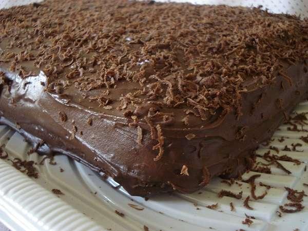 Receita de Bolo Nega Maluca com Chocolate de Liquidificador