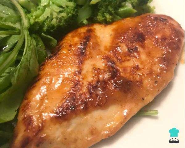 Receita de Filé de frango com mostarda e mel