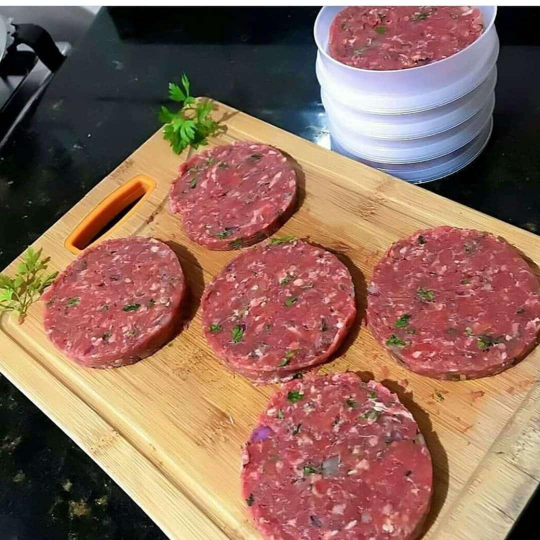 Receita de Hambúrguer de Carne Moída