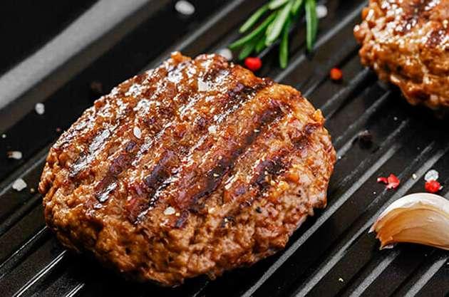 Receita de Hambúrguer de carne moída e soja