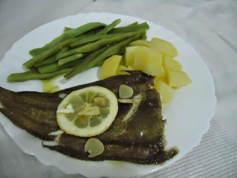 Receita de Linguado no forno com alho e limão