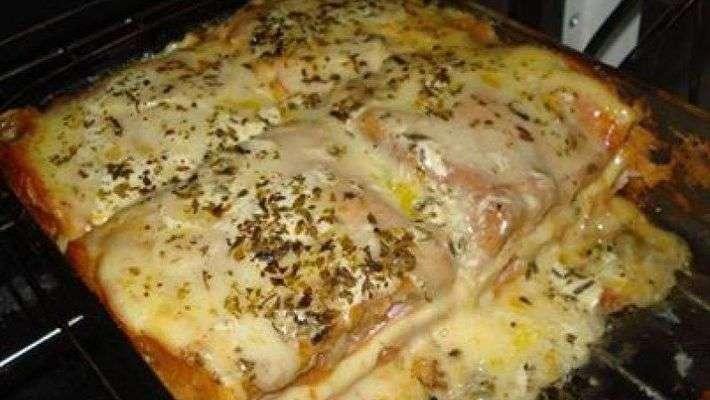 Receita de Sanduíche de forno cremoso