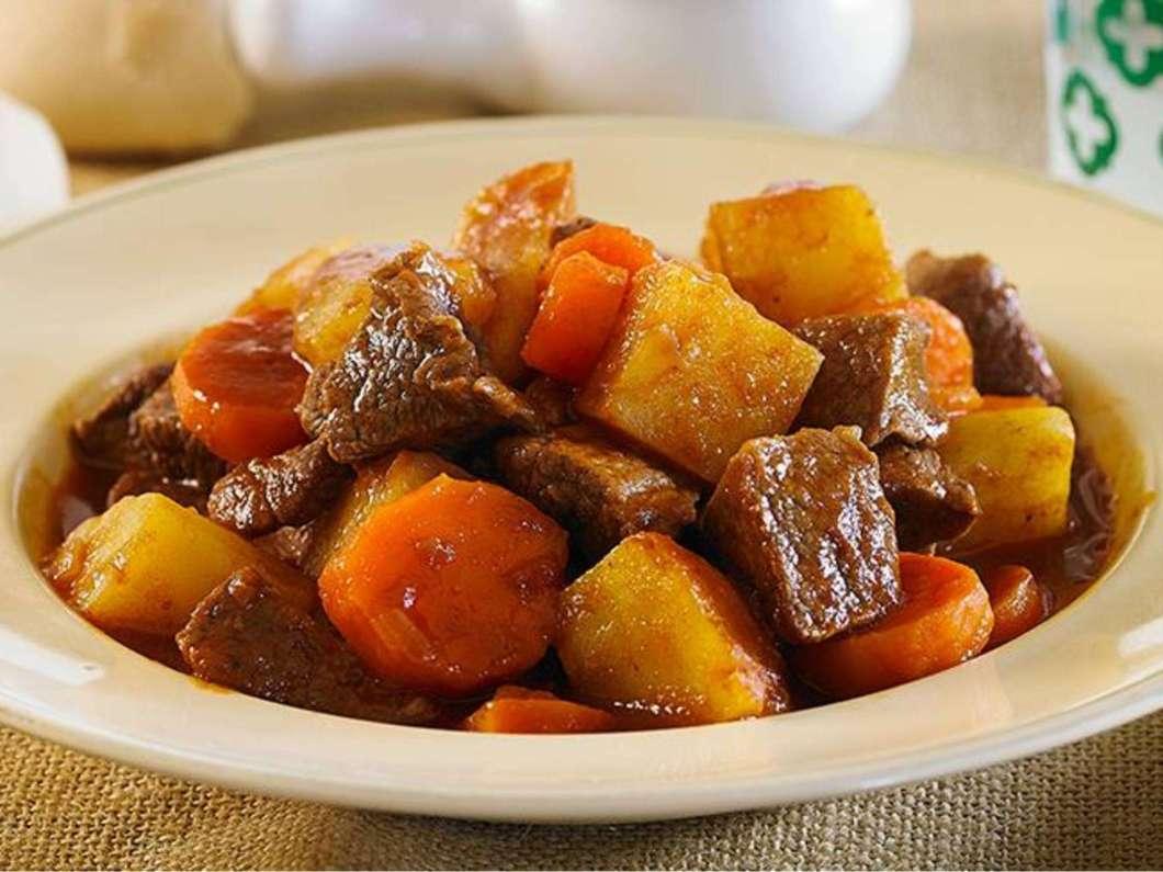 Receita Rápida de Picadinho de Carne com Batata