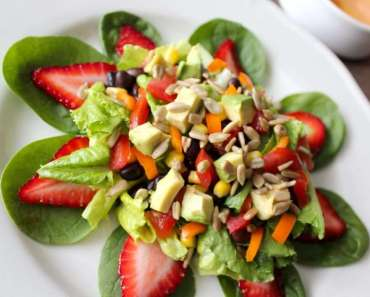 Receita de Salada tropical Fácil
