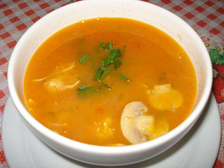 Receita de Sopa de mandioca