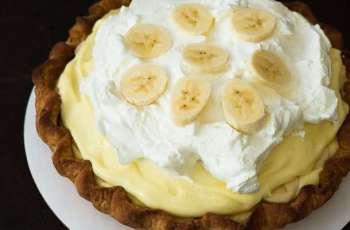 Receita de Torta cremosa de banana