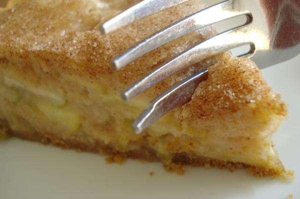 Receita de Torta de banana da terra com queijo