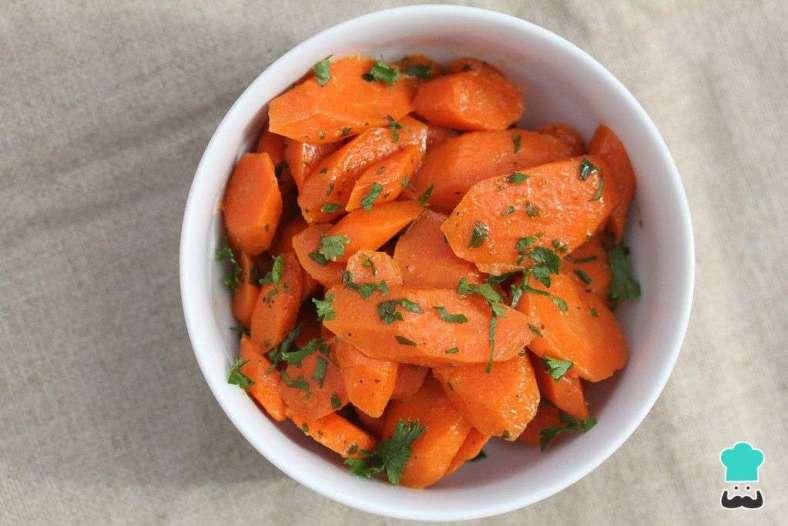 Receita de Cenoura refogada simples