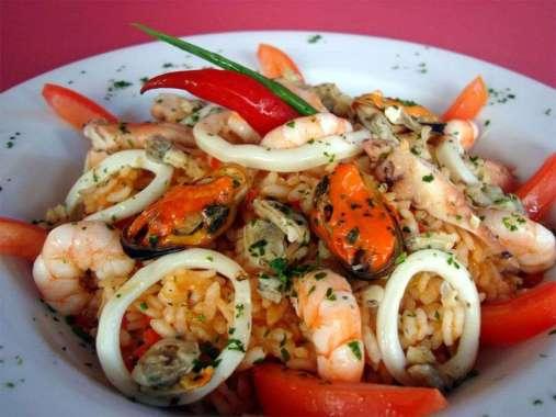 Receita de Risoto de Frutos do Mar Delicioso