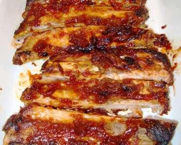 Receita de Costelinha de Porco no Forno