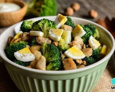 Receita de Salada de brócolis cozido