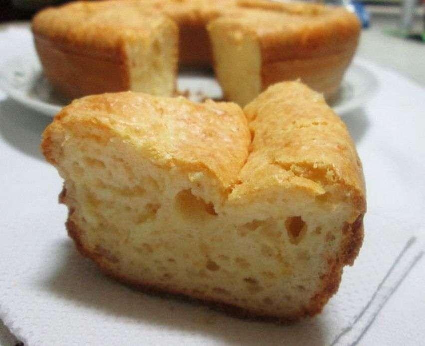 Receita de Bolo de pão de queijo de liquidificador