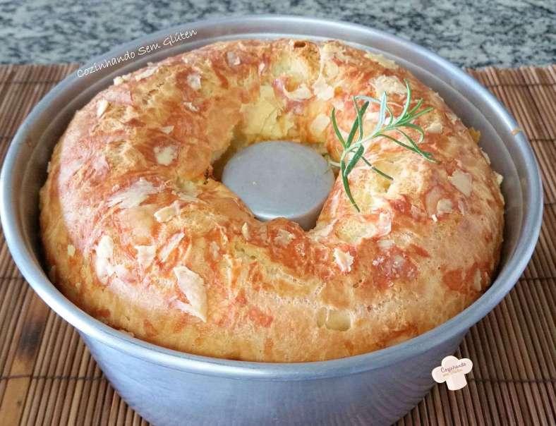 Receita de Bolo pão de queijo Rápido