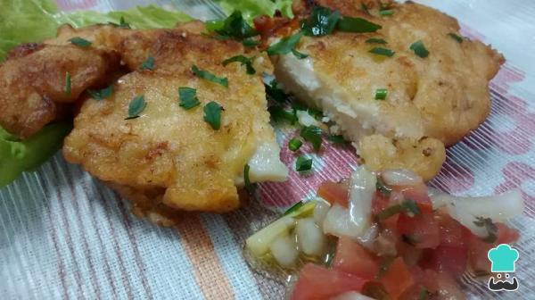 Receita de Filé de frango empanado Saboroso