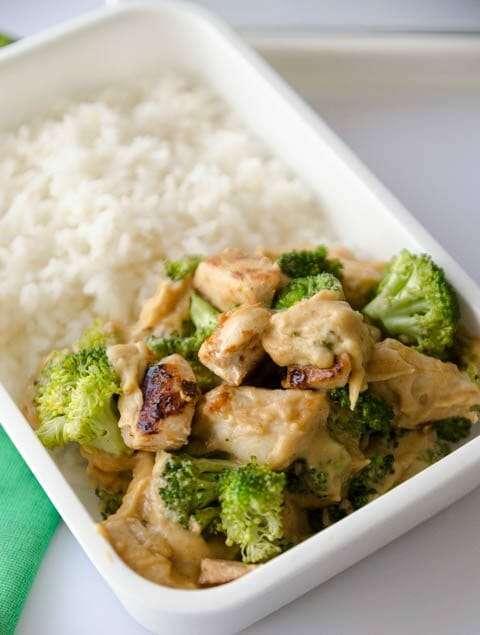 Receita de Frango com brócolis e queijo Low Carb