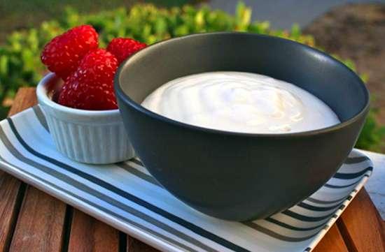 Receita de Iogurte Low Carb Pequeno Almoço