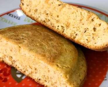 Receita de Pão Low Carb de Frigideira Sequinho