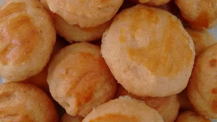 Receita de Salgadinho de queijo Delicioso
