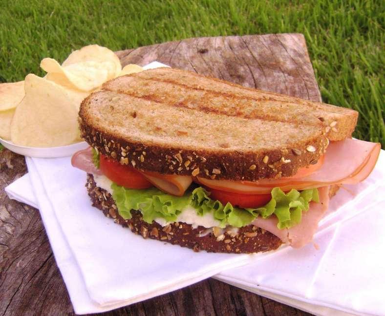 Receita de Sanduíche de peru e queijo