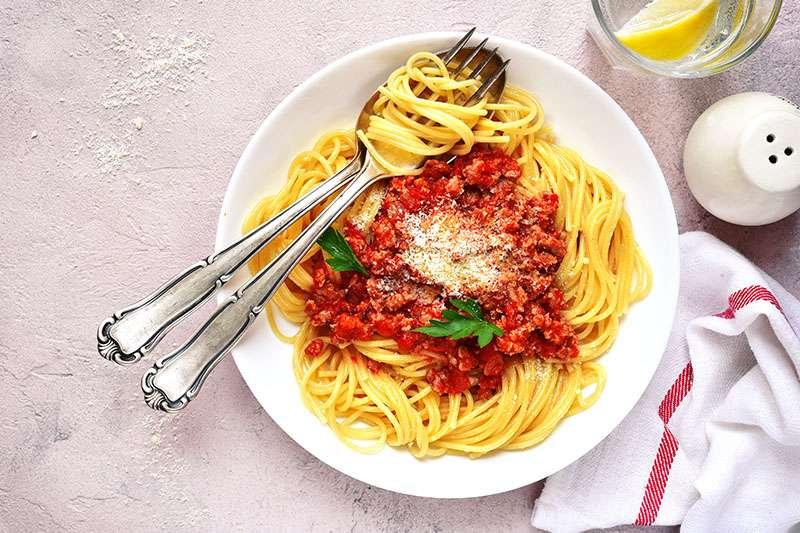 Receita de Esparguete à Bolonhesa da Maxi