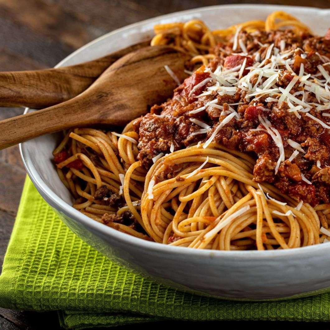 Receita de Esparguete à Bolonhesa da Vovô