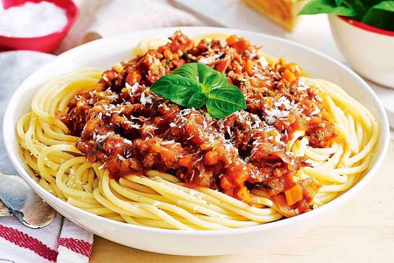 Receita de Esparguete à bolonhesa da Bimby